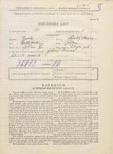 Popis prebivalstva 31. 3. 1931<br />Ljubljana<br />Vilharjeva ulica NN14<br />Population census 31 March 1931