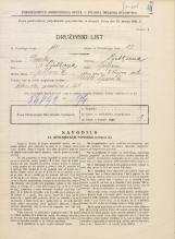 Popis prebivalstva 31. 3. 1931<br />Ljubljana<br />Vilharjeva ulica NN16<br />Population census 31 March 1931