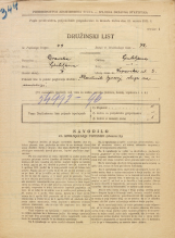 Popis prebivalstva 31. 3. 1931<br />Ljubljana<br />Vipavska ulica 3<br />Population census 31 March 1931