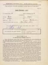 Popis prebivalstva 31. 3. 1931<br />Ljubljana<br />Vodnikova cesta 5<br />Population census 31 March 1931