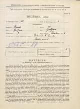 Popis prebivalstva 31. 3. 1931<br />Ljubljana<br />Vodnikova cesta 6<br />Population census 31 March 1931