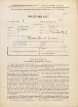 Popis prebivalstva 31. 3. 1931<br />Ljubljana<br />Vodnikov trg 2<br />Population census 31 March 1931