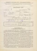 Popis prebivalstva 31. 3. 1931<br />Ljubljana<br />Vodnikov trg 5<br />Population census 31 March 1931