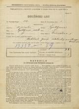 Popis prebivalstva 31. 3. 1931<br />Ljubljana<br />Vodovodna cesta 1<br />Population census 31 March 1931