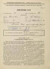 Popis prebivalstva 31. 3. 1931<br />Ljubljana<br />Vodovodna cesta 32<br />Population census 31 March 1931