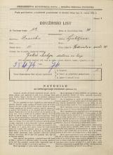 Popis prebivalstva 31. 3. 1931<br />Ljubljana<br />Vodovodna cesta 39<br />Population census 31 March 1931