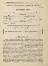 Popis prebivalstva 31. 3. 1931<br />Ljubljana<br />Vodovodna cesta 48<br />Population census 31 March 1931