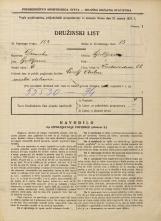 Popis prebivalstva 31. 3. 1931<br />Ljubljana<br />Vodovodna cesta 52<br />Population census 31 March 1931