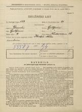 Popis prebivalstva 31. 3. 1931<br />Ljubljana<br />Vodovodna cesta 56<br />Population census 31 March 1931