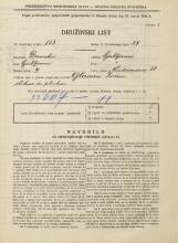 Popis prebivalstva 31. 3. 1931<br />Ljubljana<br />Vodovodna cesta 58<br />Population census 31 March 1931