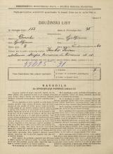 Popis prebivalstva 31. 3. 1931<br />Ljubljana<br />Vodovodna cesta 60<br />Population census 31 March 1931