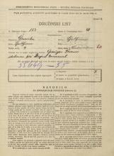 Popis prebivalstva 31. 3. 1931<br />Ljubljana<br />Vodovodna cesta 62<br />Population census 31 March 1931