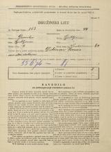 Popis prebivalstva 31. 3. 1931<br />Ljubljana<br />Vodovodna cesta 64<br />Population census 31 March 1931