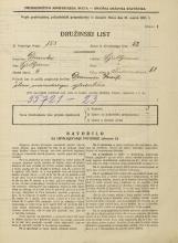 Popis prebivalstva 31. 3. 1931<br />Ljubljana<br />Vodovodna cesta 68<br />Population census 31 March 1931