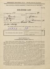 Popis prebivalstva 31. 3. 1931<br />Ljubljana<br />Vodovodna cesta 78<br />Population census 31 March 1931