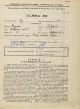 Popis prebivalstva 31. 3. 1931<br />Ljubljana<br />Wolfova ulica 3<br />Population census 31 March 1931
