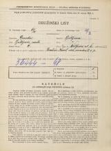 Popis prebivalstva 31. 3. 1931<br />Ljubljana<br />Wolfova ulica 4<br />Population census 31 March 1931