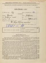 Popis prebivalstva 31. 3. 1931<br />Ljubljana<br />Wolfova ulica 5<br />Population census 31 March 1931