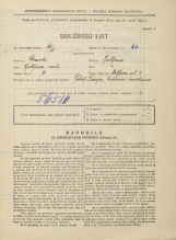 Popis prebivalstva 31. 3. 1931<br />Ljubljana<br />Wolfova ulica 8<br />Population census 31 March 1931