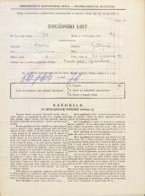 Popis prebivalstva 31. 3. 1931<br />Ljubljana<br />Vošnjakova ulica 20<br />Population census 31 March 1931