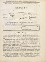 Popis prebivalstva 31. 3. 1931<br />Ljubljana<br />Vošnjakova ulica 4<br />Population census 31 March 1931
