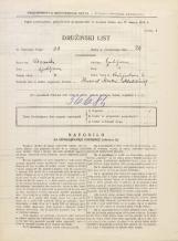 Popis prebivalstva 31. 3. 1931<br />Ljubljana<br />Vošnjakova ulica 6<br />Population census 31 March 1931