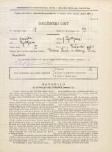 Popis prebivalstva 31. 3. 1931<br />Ljubljana<br />Vožarski pot 5<br />Population census 31 March 1931