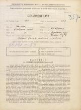 Popis prebivalstva 31. 3. 1931<br />Ljubljana<br />Vrazov trg 4<br />Population census 31 March 1931