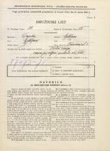 Popis prebivalstva 31. 3. 1931<br />Ljubljana<br />Vrhovčeva ulica 3<br />Population census 31 March 1931