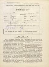 Popis prebivalstva 31. 3. 1931<br />Ljubljana<br />Vrtna ulica 22<br />Population census 31 March 1931