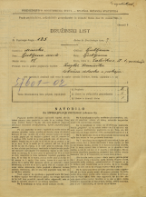 Popis prebivalstva 31. 3. 1931<br />Ljubljana<br />Zaloška cesta 1<br />Population census 31 March 1931