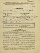 Popis prebivalstva 31. 3. 1931<br />Ljubljana<br />Zaloška cesta 11<br />Population census 31 March 1931