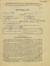 Popis prebivalstva 31. 3. 1931<br />Ljubljana<br />Zaloška cesta 13<br />Population census 31 March 1931