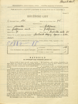 Popis prebivalstva 31. 3. 1931<br />Ljubljana<br />Zaloška cesta 21<br />Population census 31 March 1931