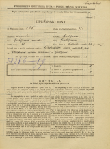 Popis prebivalstva 31. 3. 1931<br />Ljubljana<br />Zaloška cesta 23<br />Population census 31 March 1931