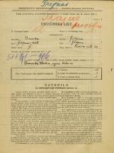 Popis prebivalstva 31. 3. 1931<br />Ljubljana<br />Zaloška cesta 29<br />Population census 31 March 1931