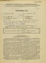 Popis prebivalstva 31. 3. 1931<br />Ljubljana<br />Zaloška cesta 4<br />Population census 31 March 1931