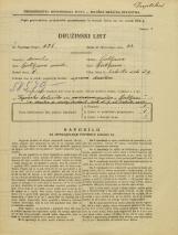 Popis prebivalstva 31. 3. 1931<br />Ljubljana<br />Zaloška cesta 9<br />Population census 31 March 1931