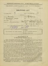 Popis prebivalstva 31. 3. 1931<br />Ljubljana<br />Zarnikova ulica 16<br />Population census 31 March 1931