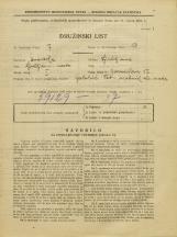 Popis prebivalstva 31. 3. 1931<br />Ljubljana<br />Zarnikova ulica 17<br />Population census 31 March 1931