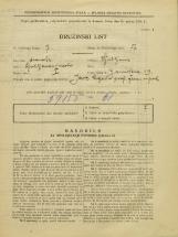 Popis prebivalstva 31. 3. 1931<br />Ljubljana<br />Zarnikova ulica 19<br />Population census 31 March 1931