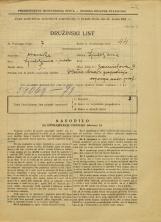 Popis prebivalstva 31. 3. 1931<br />Ljubljana<br />Zarnikova ulica 9<br />Population census 31 March 1931