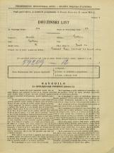 Popis prebivalstva 31. 3. 1931<br />Ljubljana<br />Zavrti 12<br />Population census 31 March 1931