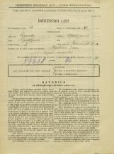 Popis prebivalstva 31. 3. 1931<br />Ljubljana<br />Zelena pot 10<br />Population census 31 March 1931
