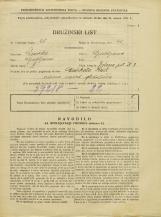 Popis prebivalstva 31. 3. 1931<br />Ljubljana<br />Zelena pot 3<br />Population census 31 March 1931