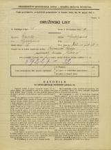 Popis prebivalstva 31. 3. 1931<br />Ljubljana<br />Zelena pot 4<br />Population census 31 March 1931