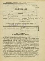 Popis prebivalstva 31. 3. 1931<br />Ljubljana<br />Zelena pot 7<br />Population census 31 March 1931
