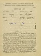 Popis prebivalstva 31. 3. 1931<br />Ljubljana<br />Zeljarska ulica 11<br />Population census 31 March 1931