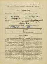 Popis prebivalstva 31. 3. 1931<br />Ljubljana<br />Zrinjskega cesta 5<br />Population census 31 March 1931