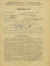 Popis prebivalstva 31. 3. 1931<br />Ljubljana<br />Zrinjskega cesta 7<br />Population census 31 March 1931